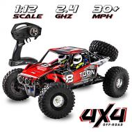 1:12 Scale Fast RC Car Off/On Road 4x4 30+ MPH (50 km/h) High Speed Vehicle 2.4GHz Radio Remote Control Buggy, Delivers Hours of Action-Packed Driving & Racing All Kinds of Extreme