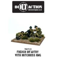 Warlord Games Bolt Action - Early War French Mmg Team