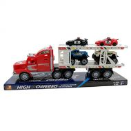 YMCtoys High Powered Truck Strong Power Truck Series Auto Carrier W4 Cars Toy for Kids (Colors May Vary)