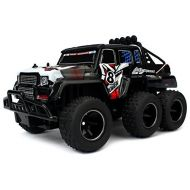 You&Me Velocity Toys Speed Wagon 6X6 Remote Control RC High Performance Truck 2.4 GHz Control System Big Sc