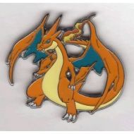 Pokemon TCG BREAKpoint Pokemon Trading Card Game XY BREAK Through Mega Charizard Y Red Limited Edition Collector Pin  League Badge (1.75 Inch)