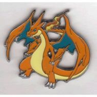 Pokemon TCG BREAKpoint Pokemon Trading Card Game XY BREAK Through Mega Charizard Y Red Limited Edition Collector Pin / League Badge (1.75 Inch)